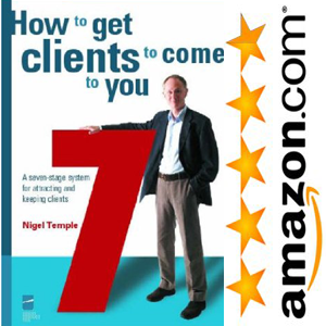 Hot to get clients to come to you book by Nigel Temple