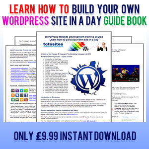 Wordpress guide book - learn how to build a website within Wordpress